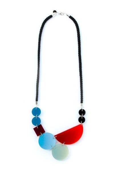 Blend Necklace Blue Red